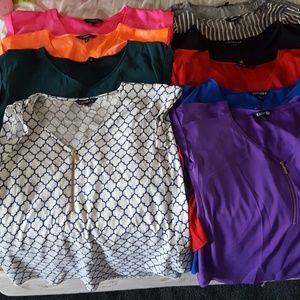 Express lot of 12 blouses